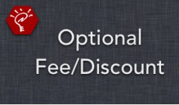 (1.5.x) Optional Fee/Discount