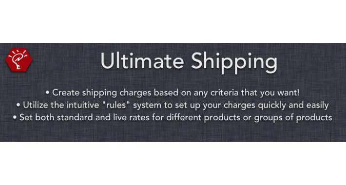 (1.5.x) Ultimate Shipping