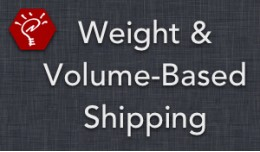 (1.5.x) Weight & Volume-Based Shipping