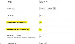 Customer Group Separate Product Quantity [vQmod]