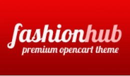 Fashion Hub Opencart Premium Theme in Red Color