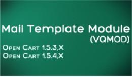 Mail Template Module (VQMOD)
