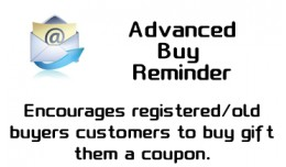 Advanced Buy Reminder(Coupon Gift)