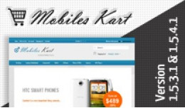 Mobiles Kart Opencart Template