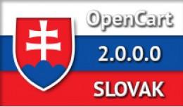 SLOVAK LANGUAGE / SLOVENČINA / OPENCART 2.0.0.0