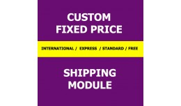 Custom Fixed Price Shipping Module