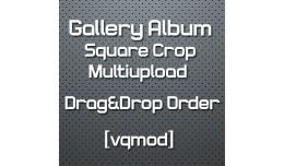 [vqmod] Gallery Album Crop Multiupload - Drag&am..