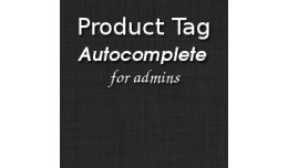 Product Tag Autocomplete
