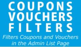 Coupons Vouchers Filters (vqmod)