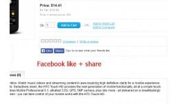 Facebook like+share