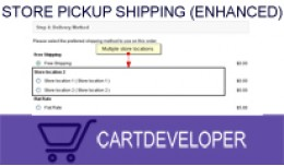 Store Pickup Shipping (Multiple locations) for O..
