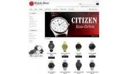 Watch Store OpenCart Temp..