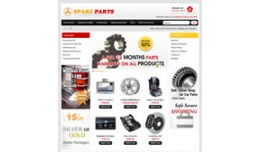 Spare Parts OpenCart Template..