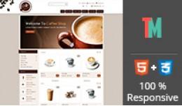 Coffee Store OpenCart Temp..