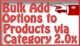 (OcMod) Bulk add Options to Products via Category