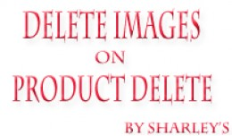 {vqmod} Delete image on product delete