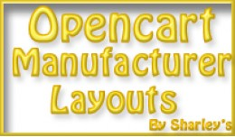Opencart Manufacturer Layouts