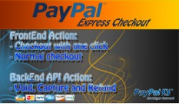 PayPal Express Checkout also Capture, Void and R..