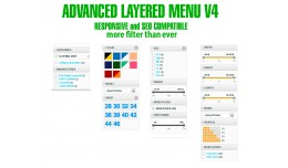 Advanced responsive Menu layered V4 seo compatib..