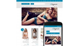 OpenCart 2 Theme Forest Lingerie Сyan