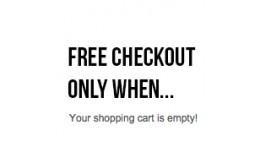 Force Free Checkout when Zero Total