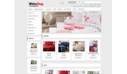 WhiteShop - Professional Opencart 1.5.2 Template