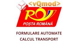 Posta Romana - Automatizare formulare, calcul tr..
