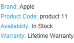 Item / Product Warranty