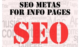 SEO Metas for Info Pages (from Opencart SEO Pack..