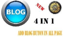 Add Blog Buttons 4 in 1   2021   Full OCMOD