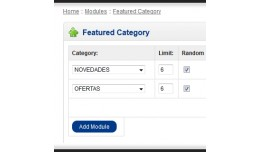 Featured Category Module