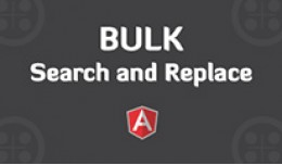 BULK Search & Replace within product