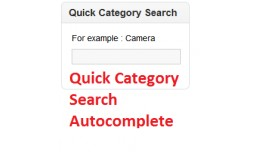 Category Live Ajax Autocomplete Search