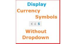 Display Currency Symbols