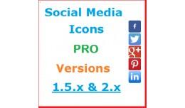 Social Media Buttons PRO