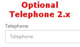 Phone Not Mandatory 2.x and 3.x