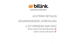 Billink - Dutch payment method for pay after del..