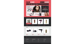 Responsive Hair Care Store