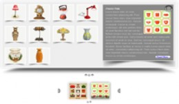 Category [thumbnail+discription] products slider