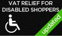 VAT exemption for disabled shoppers in the UK