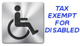 VAT Exemption Declaration form for the disabled/..