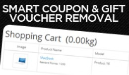 Smart Coupon and Gift Voucher Removal