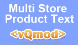 Multi Store Product Text