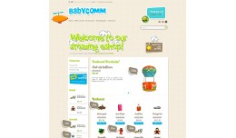 Baby Comm Responsive Theme (RTL + LTR)