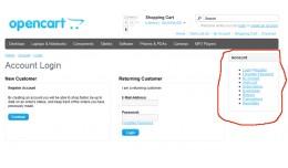 Remove Customers Menu If not logged