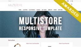 MultiStore - January Contest Winner Responsive T..