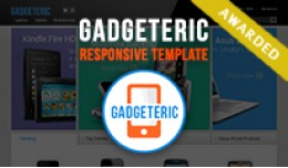 Gadgeteric - Easter Contest Winner OpenCart Theme