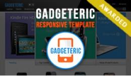 Gadgeteric - Easter Contest Winner OpenCart Theme