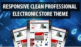 Electronic Store Responsive Theme