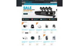 OpenCart Home Security Cameras Webcam Theme Resp..